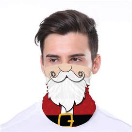 Santa Wrap-Around Face Covering Neck Gaiter