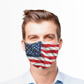 American Flag Reusable Cloth Face Mask
