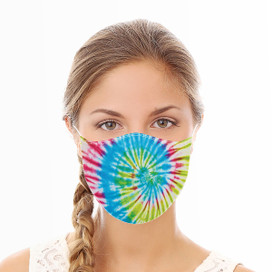 Tye Dye Reusable Cloth Face Mask