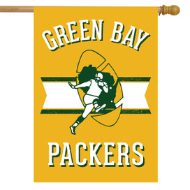 Retro Green Bay Packers House Flag
