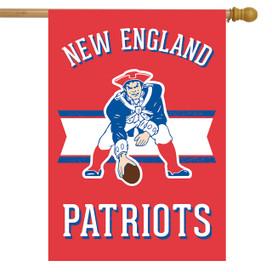 Retro New England Patriots Licensed NFL House Flag