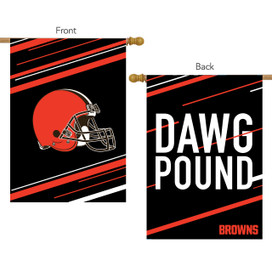Cleveland Browns Slogan House Flag