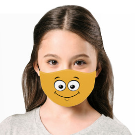 Smile - Yellow Cloth *Children's Size* Kids Face Mask