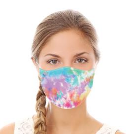 Rainbow Tie Dye Reusable Cloth Face Mask