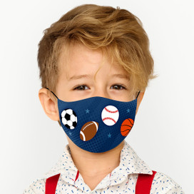 Sports Reusable Cloth *Children's Size* Kids Face Mask