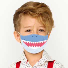 Shark Reusable Cloth *Children's Size* Kids Face Mask