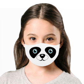 Panda Reusable Cloth *Children's Size* Kids Face Mask