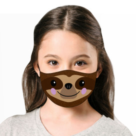 Sloth Reusable Cloth *Children's Size* Kids Face Mask