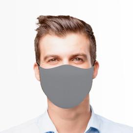 Gray Reusable Cloth Face Mask