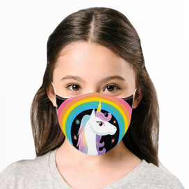 Unicorn Reusable Cloth Children's Size Face Mask