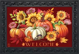 Fall Beauty Floral Doormat