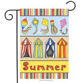 Sun and Fun Summer Garden Flag