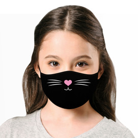 Kitten Cloth *Children's Size* Kids Face Mask