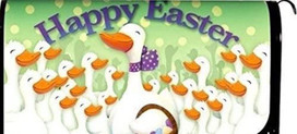 Happy Easter GeesE Magnetic Mailbox Cover
