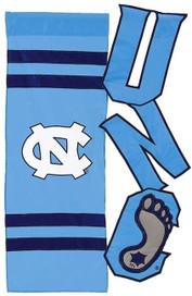 University of North Carolina Tar Heels NCAA Licensed House Flag