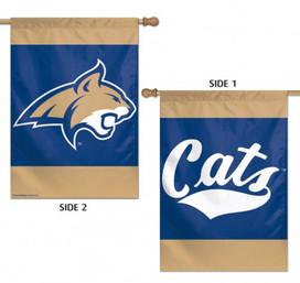 Montana State University Bobcats 2 Sided House Flag
