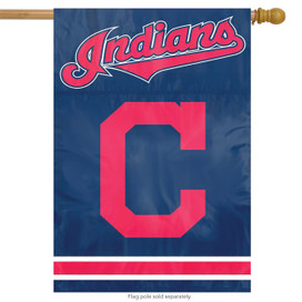 Cleveland Indians Licensed MLB Banner Flag