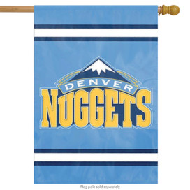 Denver Nuggets Applique Embroidered Banner Flag NBA
