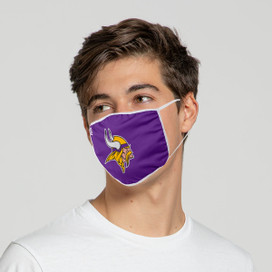 Minnesota Vikings Solid Big Logo Face Mask
