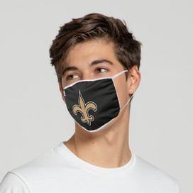 New Orleans Saints Solid Big Logo Face Mask