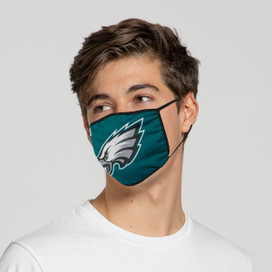 Philadelphia Eagles Solid Big Logo Face Mask
