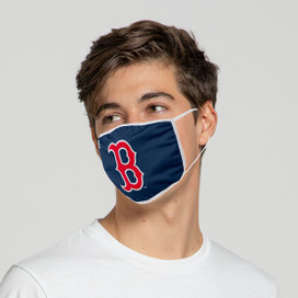 Boston Red Sox Solid Big Logo Face Mask