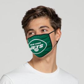 New York Jets Solid Big Logo Face Mask