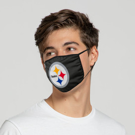 Pittsburgh Steelers Solid Big Logo Face Mask