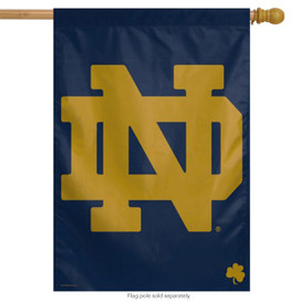 Notre Dame Irish Vertical House Flag