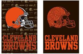 Cleveland Browns NFL Licensed Garden Flag