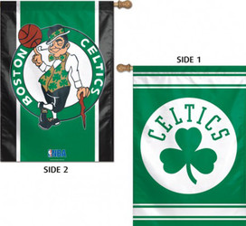 Boston Celtics 2 Sided NBA Vertical House Flag Licensed Basketball