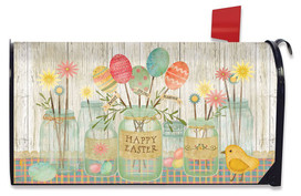 Spring Egg Bouquet Easter Magnetic Mailbox Cover