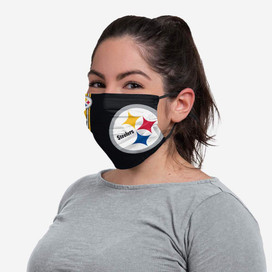 Pittsburgh Steelers On-Field Sideline Big Logo Face Mask