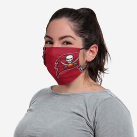 Tampa Bay Buccaneers On-Field Sideline Big Logo Face Mask