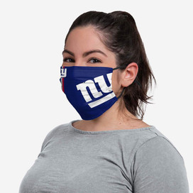 New York Giants On-Field Sideline Big Logo Face Mask