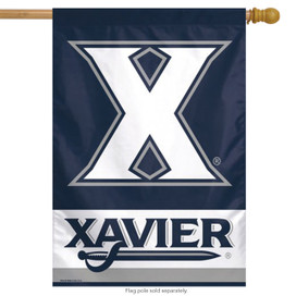 Xavier University NCAA Vertical House Flag