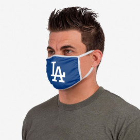 Los Angeles Dodgers Solid Big Logo Face Mask