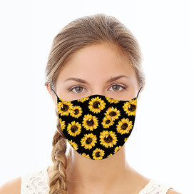 Sunflowers Reusable Cloth Face Mask