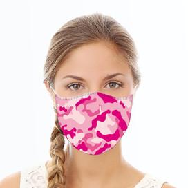 Pink Camoflauge Reusable Cloth Face Mask