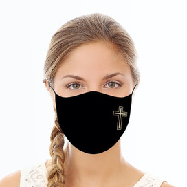 Cross Reusable Cloth Face Mask