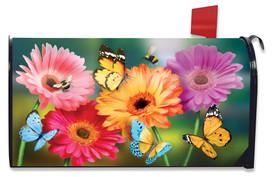 Garden Gerber Daisies Spring Mailbox Cover