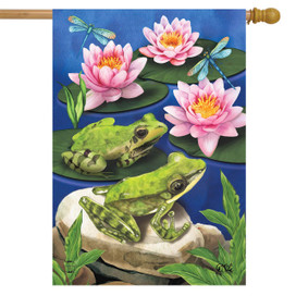 Frog Pond Summer House Flag