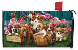 In The Garden Spring Mailbox Cover
