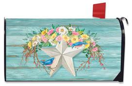 Spring Barnstar Primitive Mailbox Cover