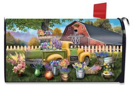 Flower Barn Spring Mailbox Cover