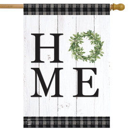Home Everyday Rustic Double-Sided House Flag