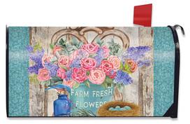 Farm Fresh Peonies Spring Mailbox Cover