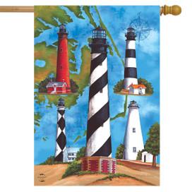 Lighthouses Summer House Flag