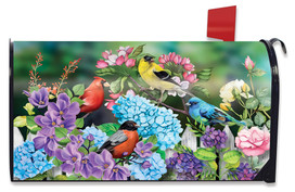 Feathered Friends Spring Mailbox Cover