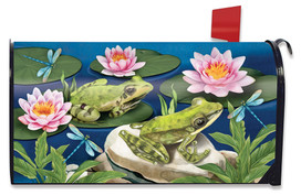Frog Pond Summer Mailbox Cover